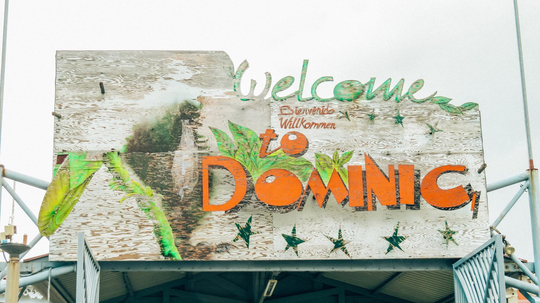 Dominica Karibik Kreuzfahrt Hafen The Nature Island