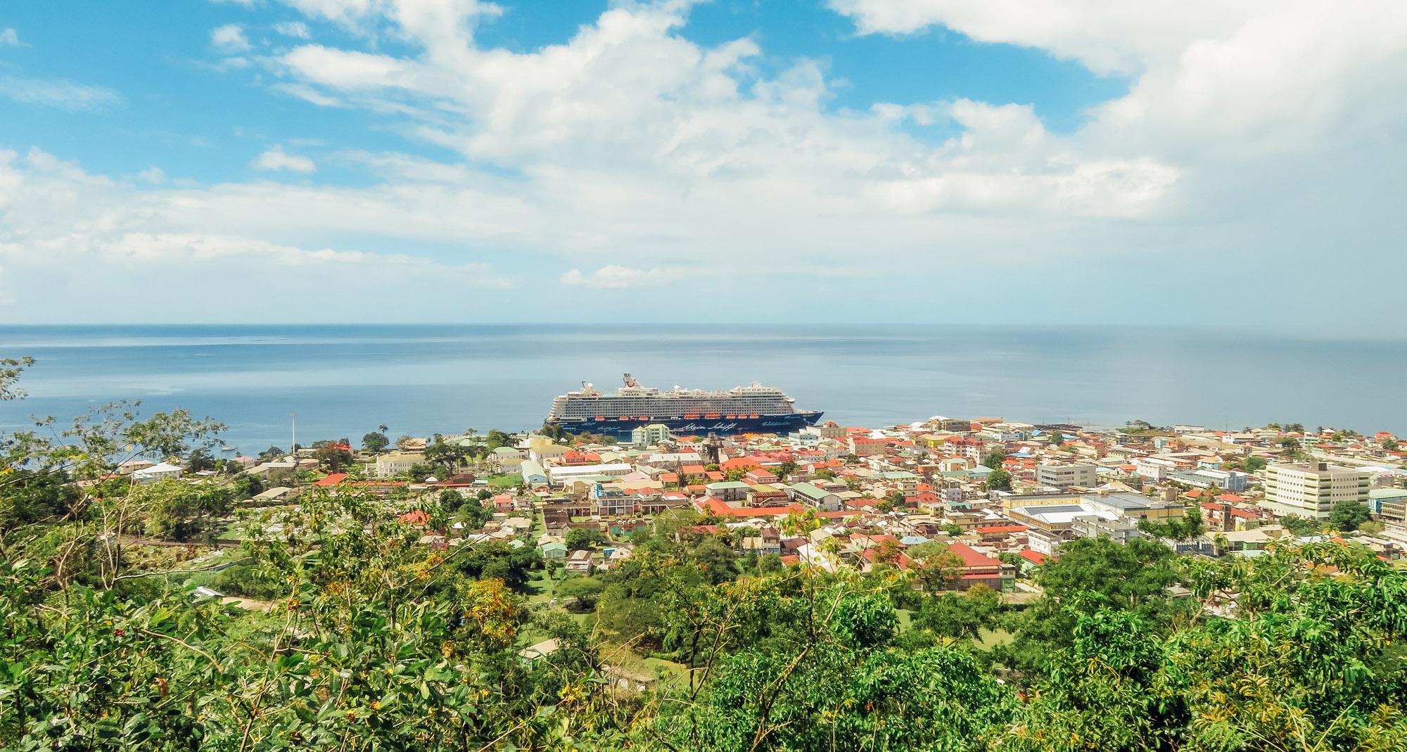 Dominica Karibik Kreuzfahrt Roseau Morne Bruce