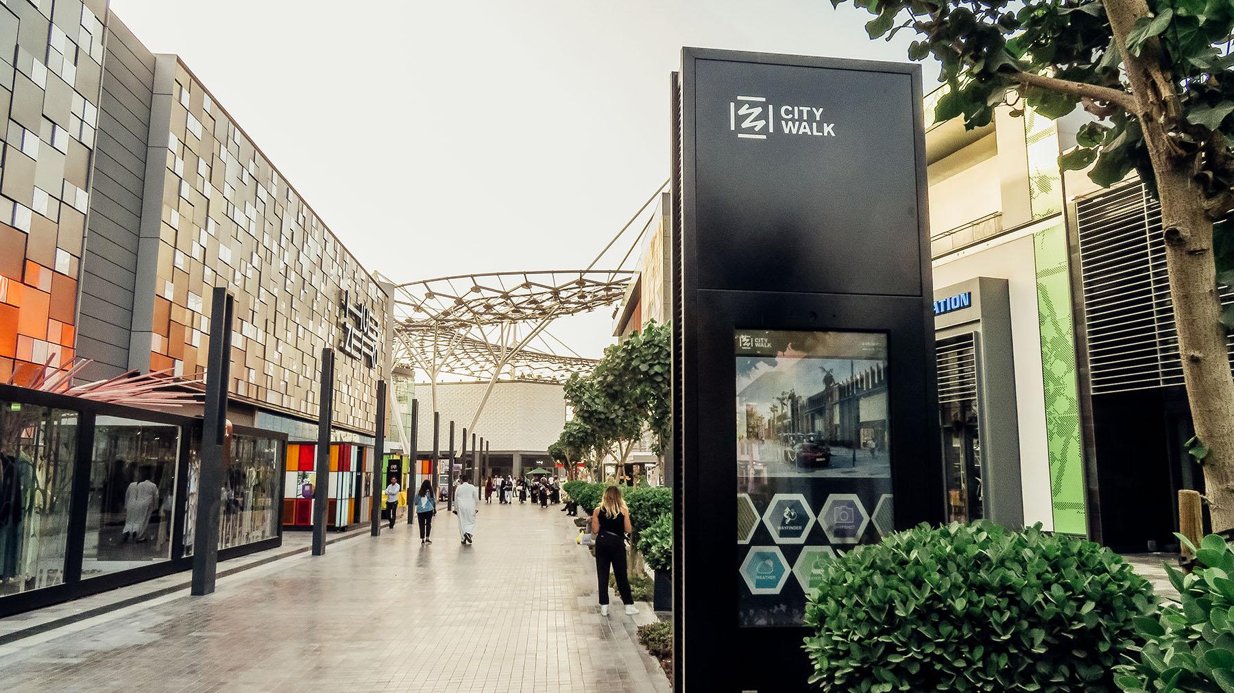 Orient Kreuzfahrt Dubai City Walk Eingang