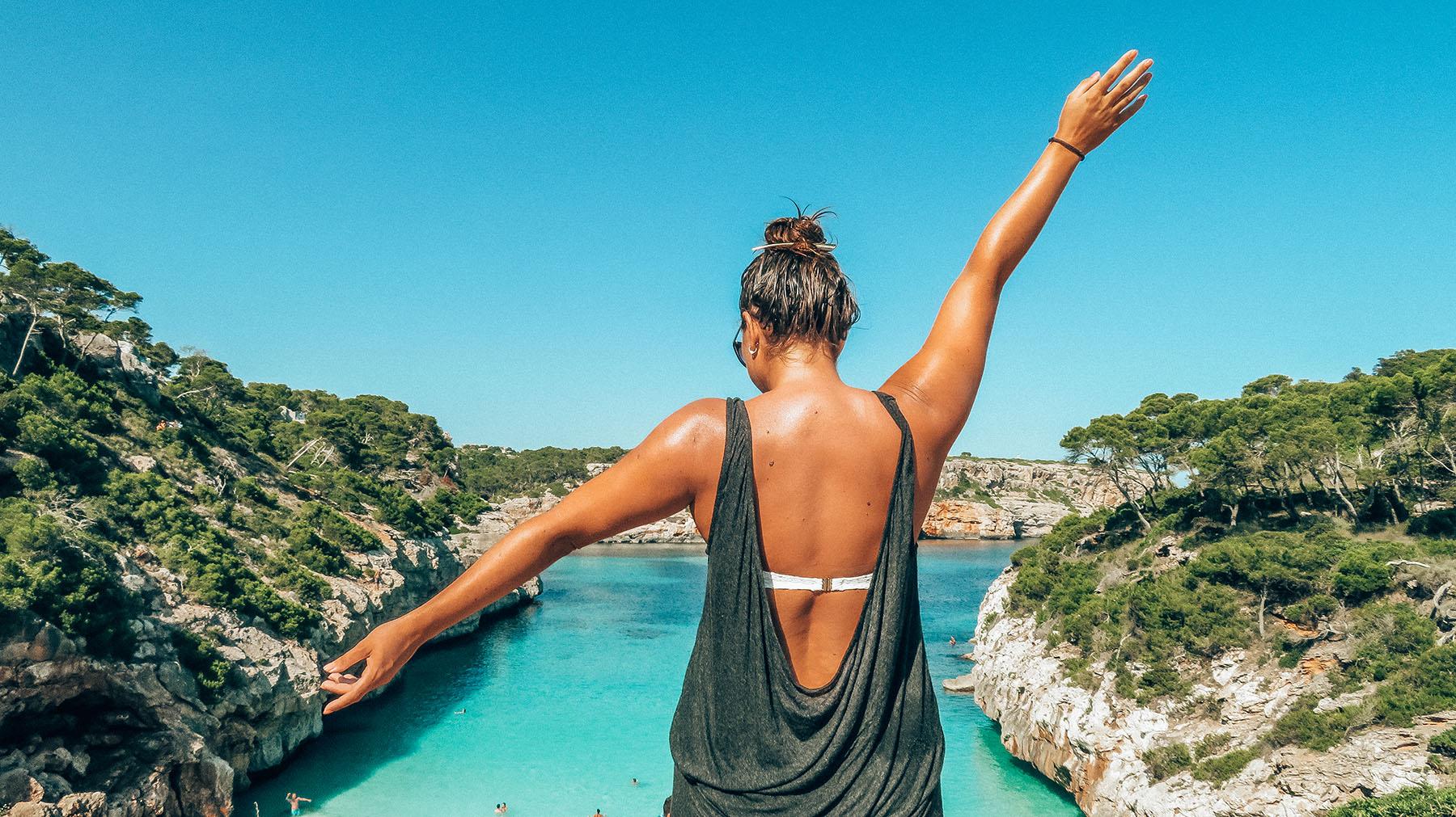 Mallorca Calo des Moro Aussicht