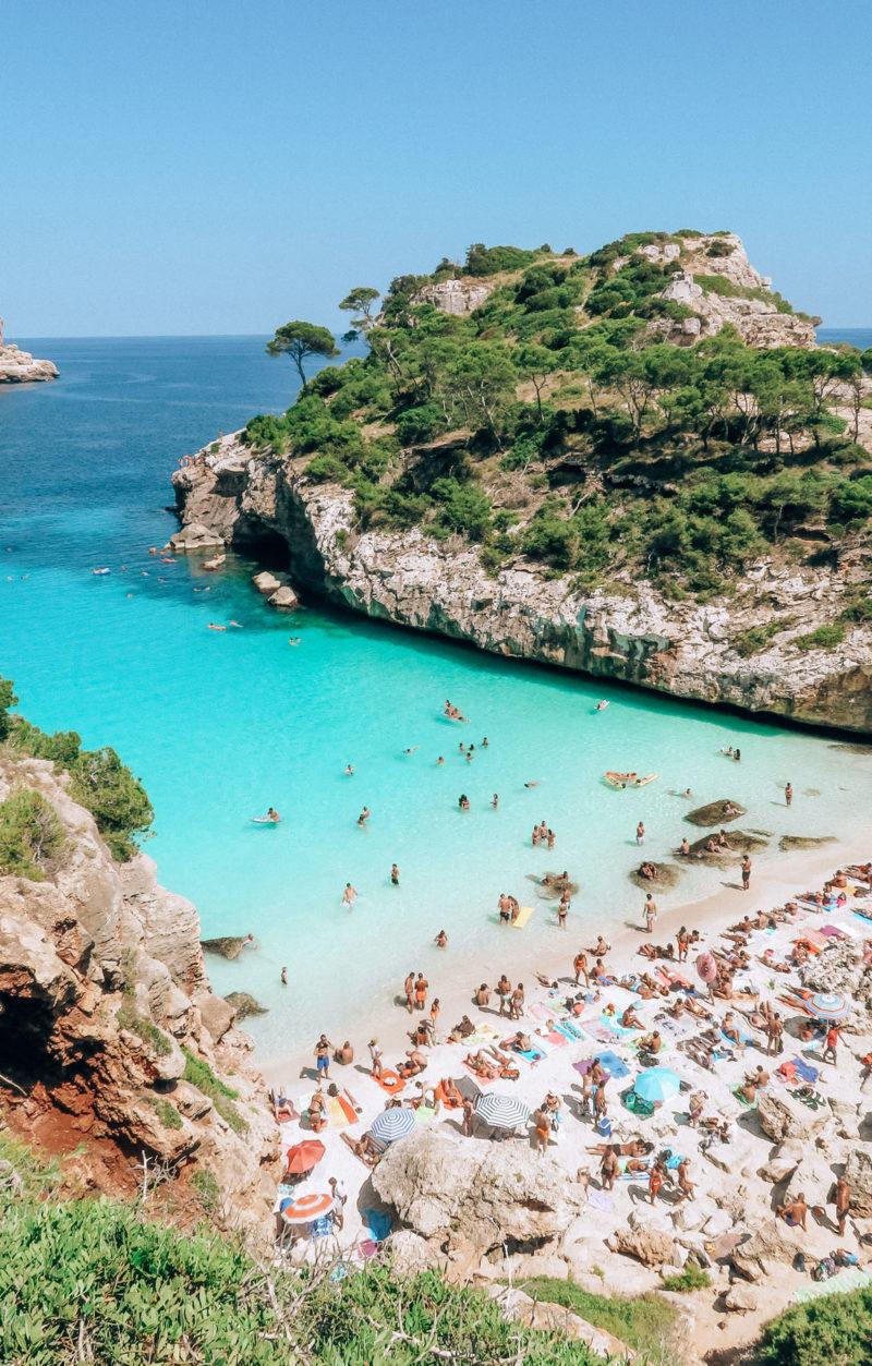 Mallorca Strand Calo des Moro