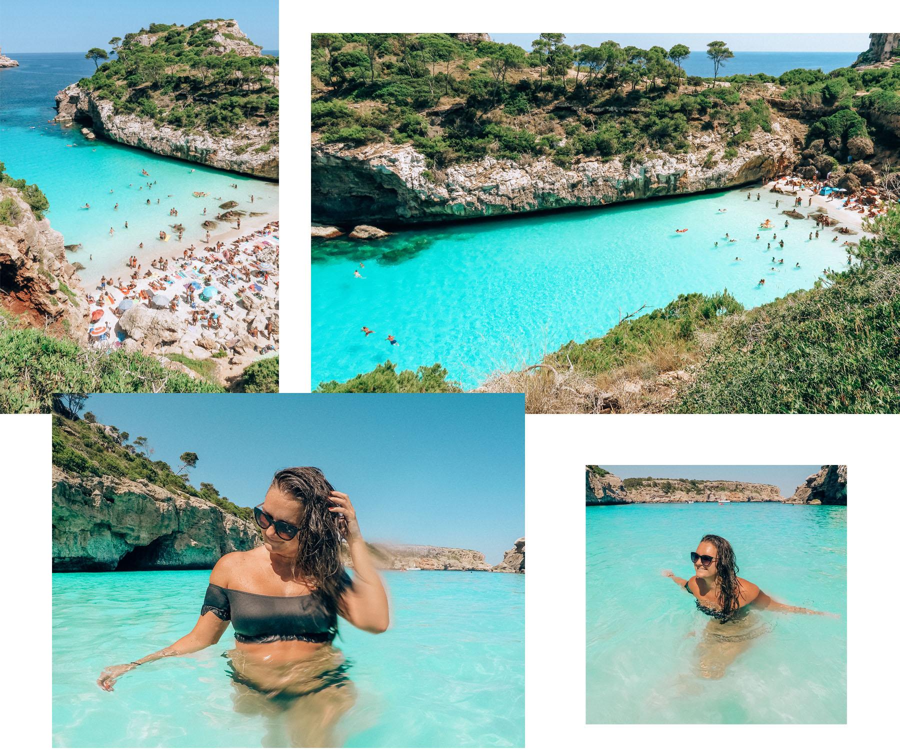 Calo des Moro Mallorca Wasser Bucht