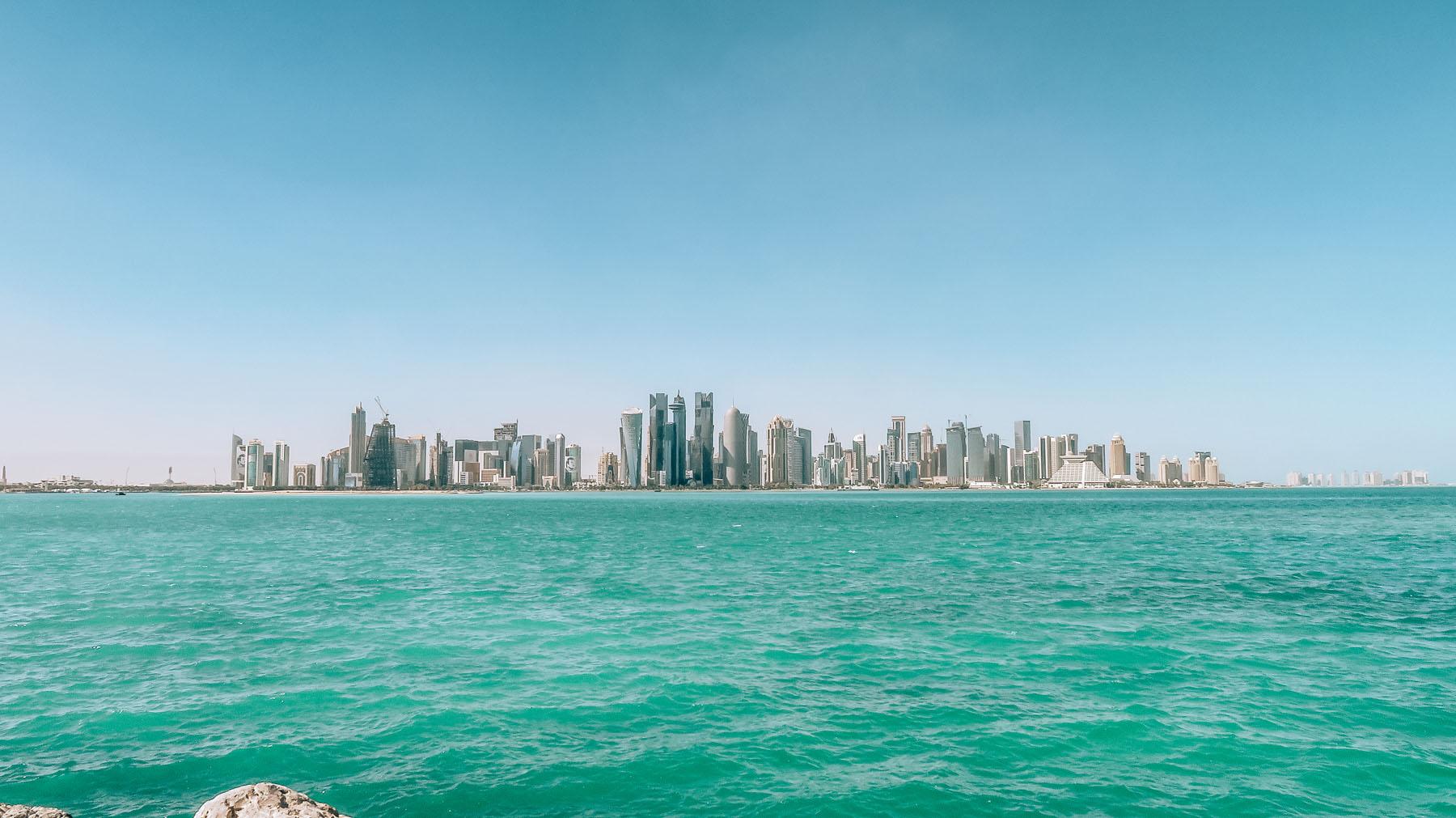 Orient Kreuzfahrt Doha Katar Westbay Stadt Zentrum