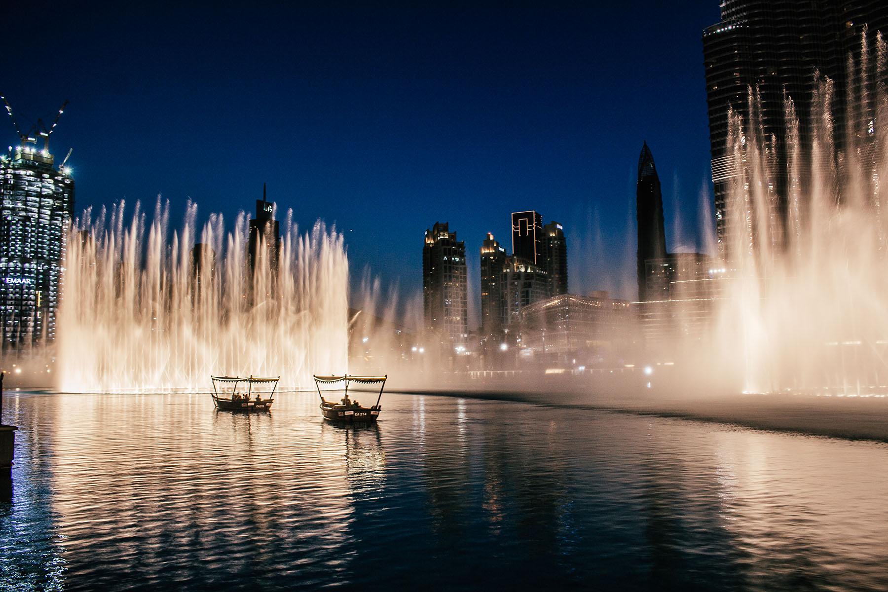 Orient Kreuzfahrt Dubai Fountain