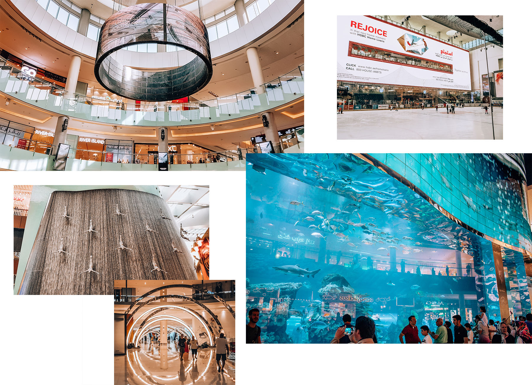 Orient Kreuzfahrt Dubai Mall