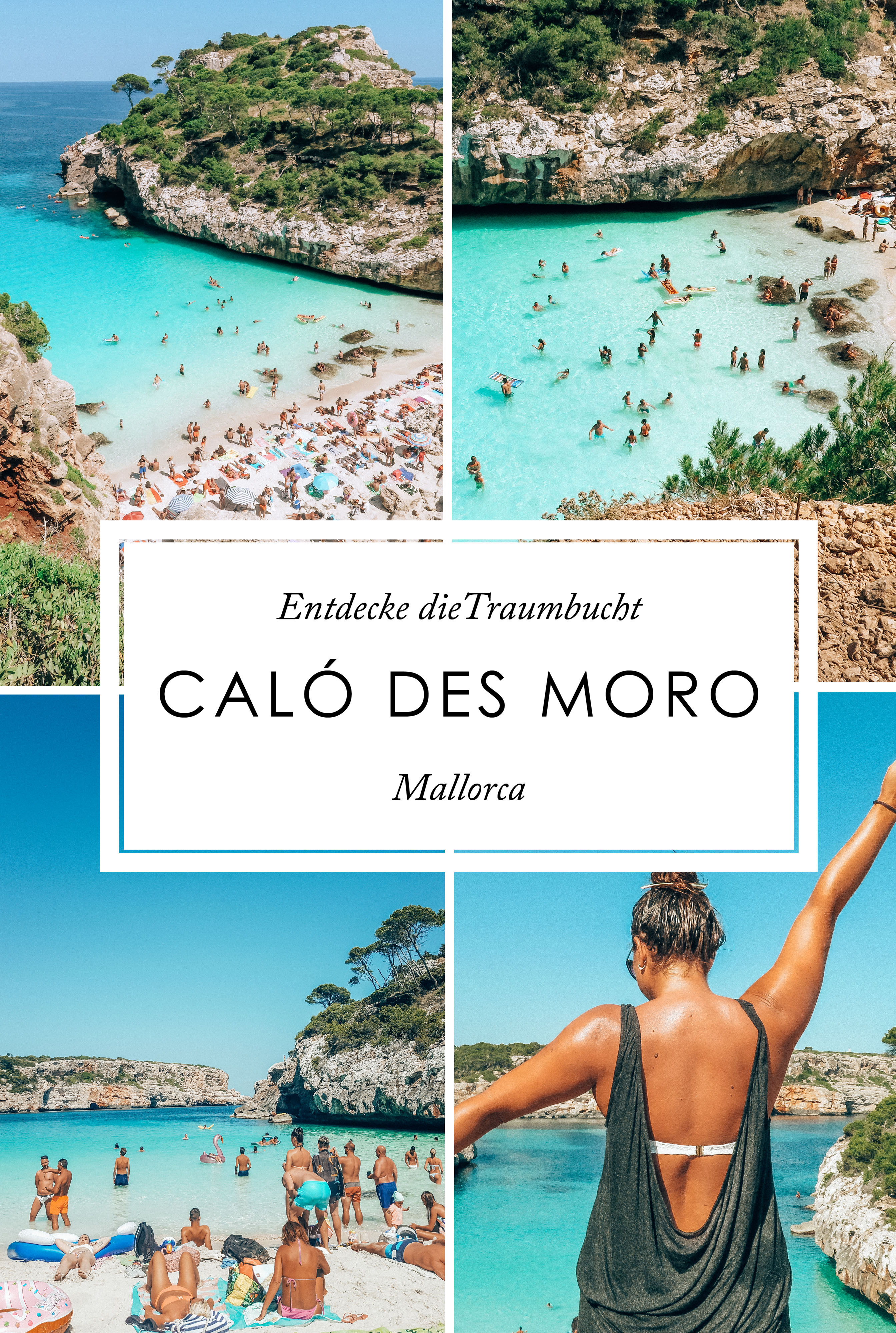 Mallorca Calo des Moro Pinterest
