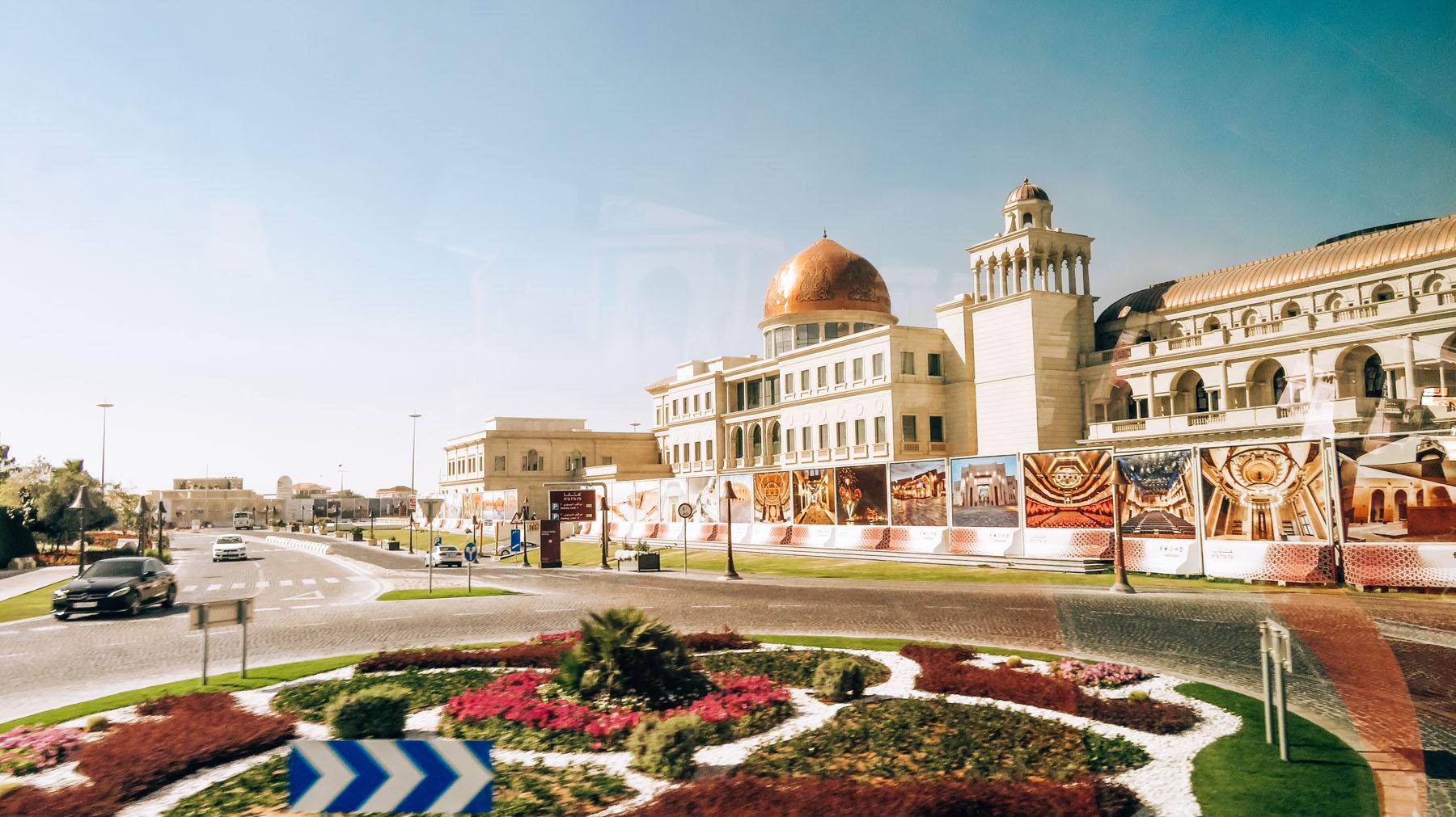 Orient Kreuzfahrt Doha Katar Ausflug Palast