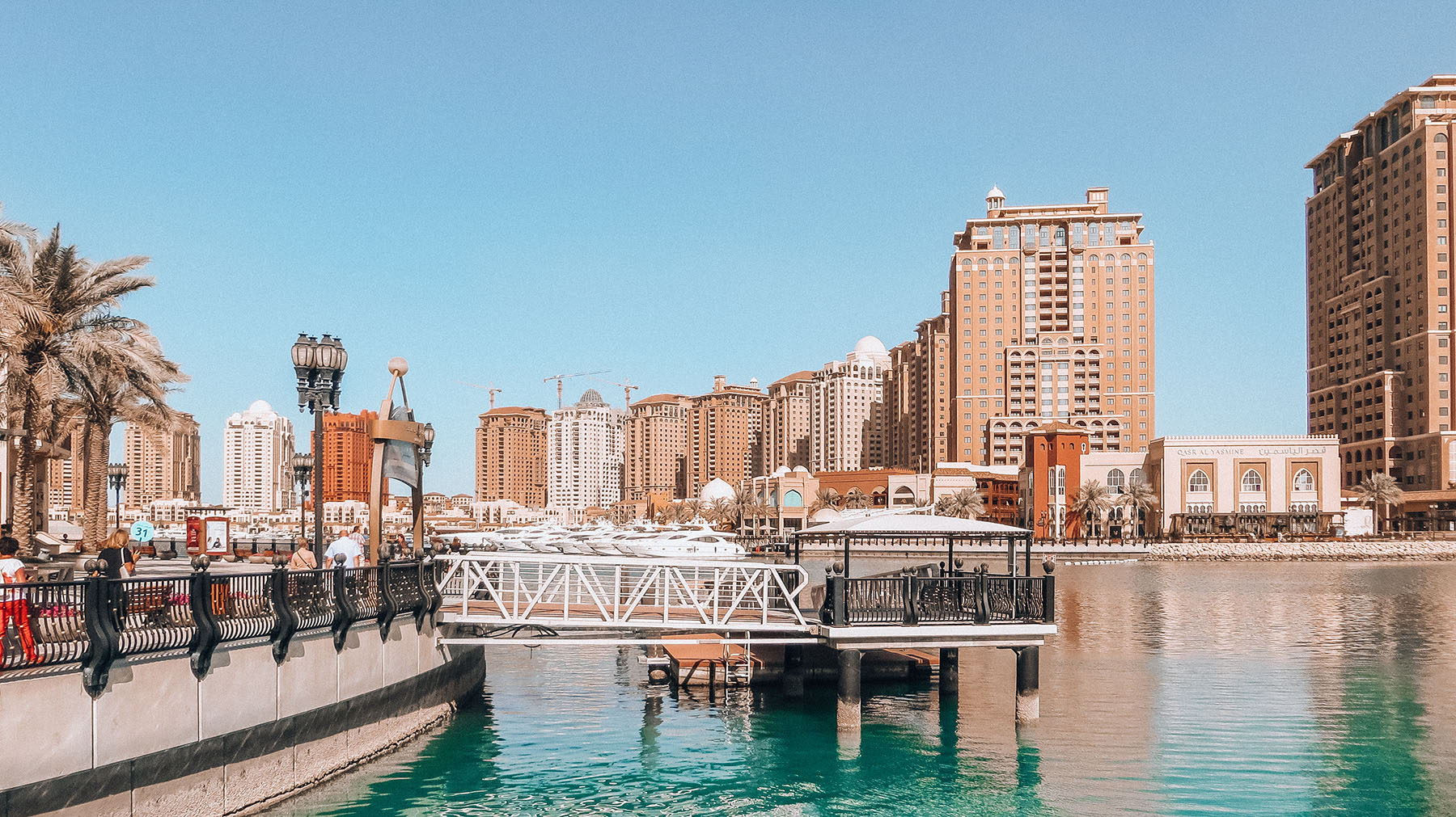 Orient Kreuzfahrt Doha Katar Ausflug The Pearl