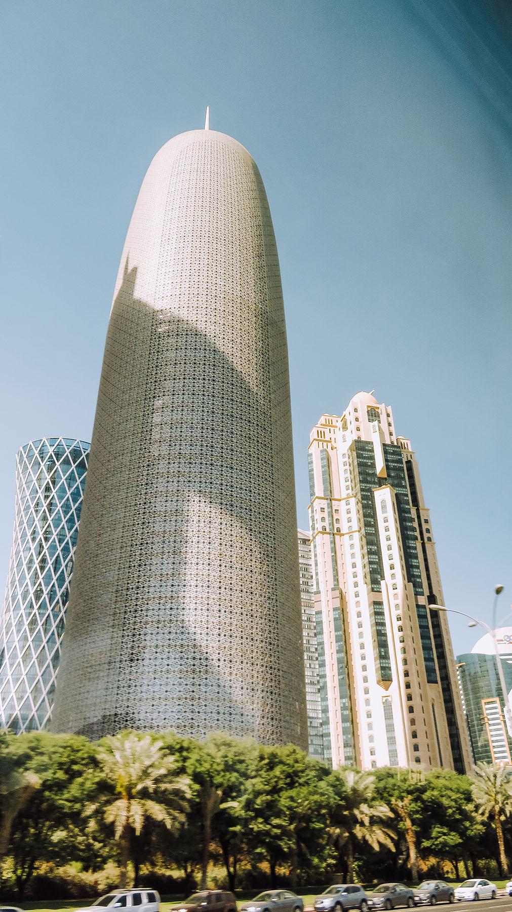 Orient Kreuzfahrt Doha Katar Gebäude