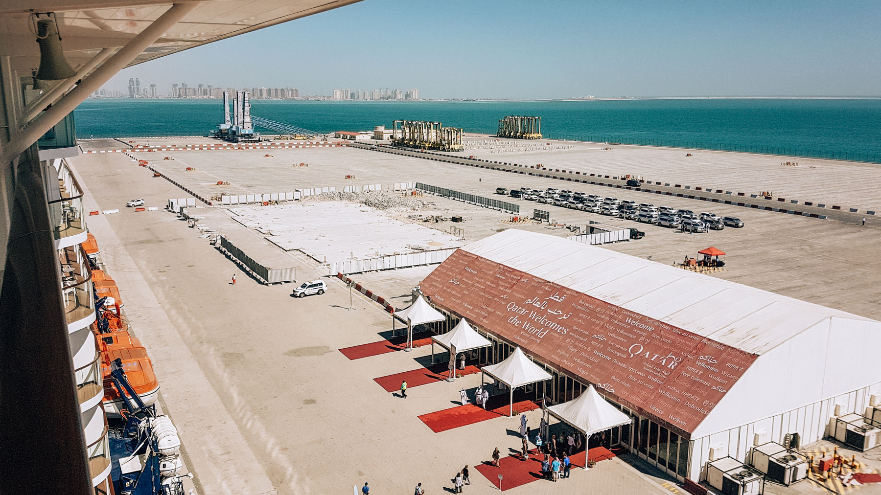 Orient Kreuzfahrt Doha Katar Hafen