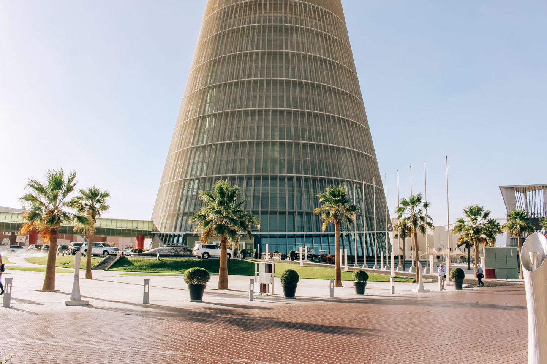 Orient Kreuzfahrt Doha Katar The Torch Platz