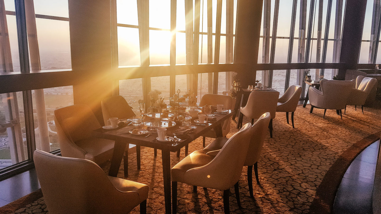 Orient Kreuzfahrt Doha Katar The Torch Restaurant