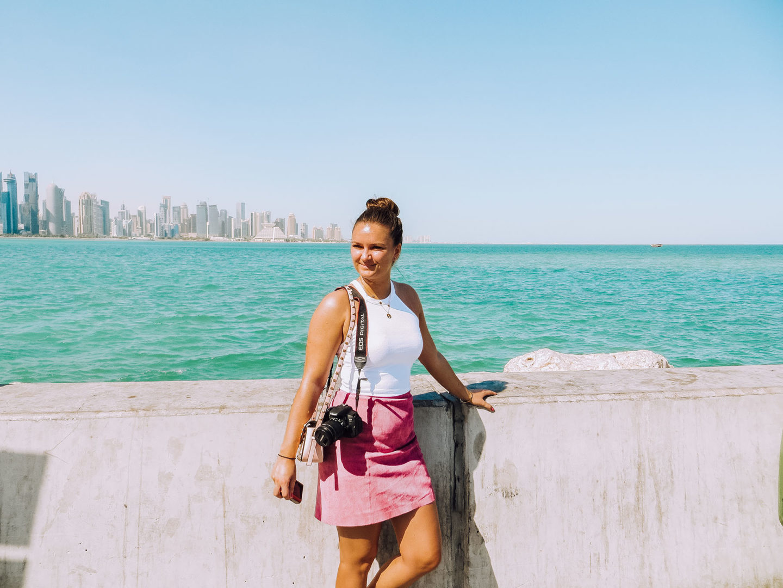 Orient Kreuzfahrt Doha Katar Westbay Ausflug