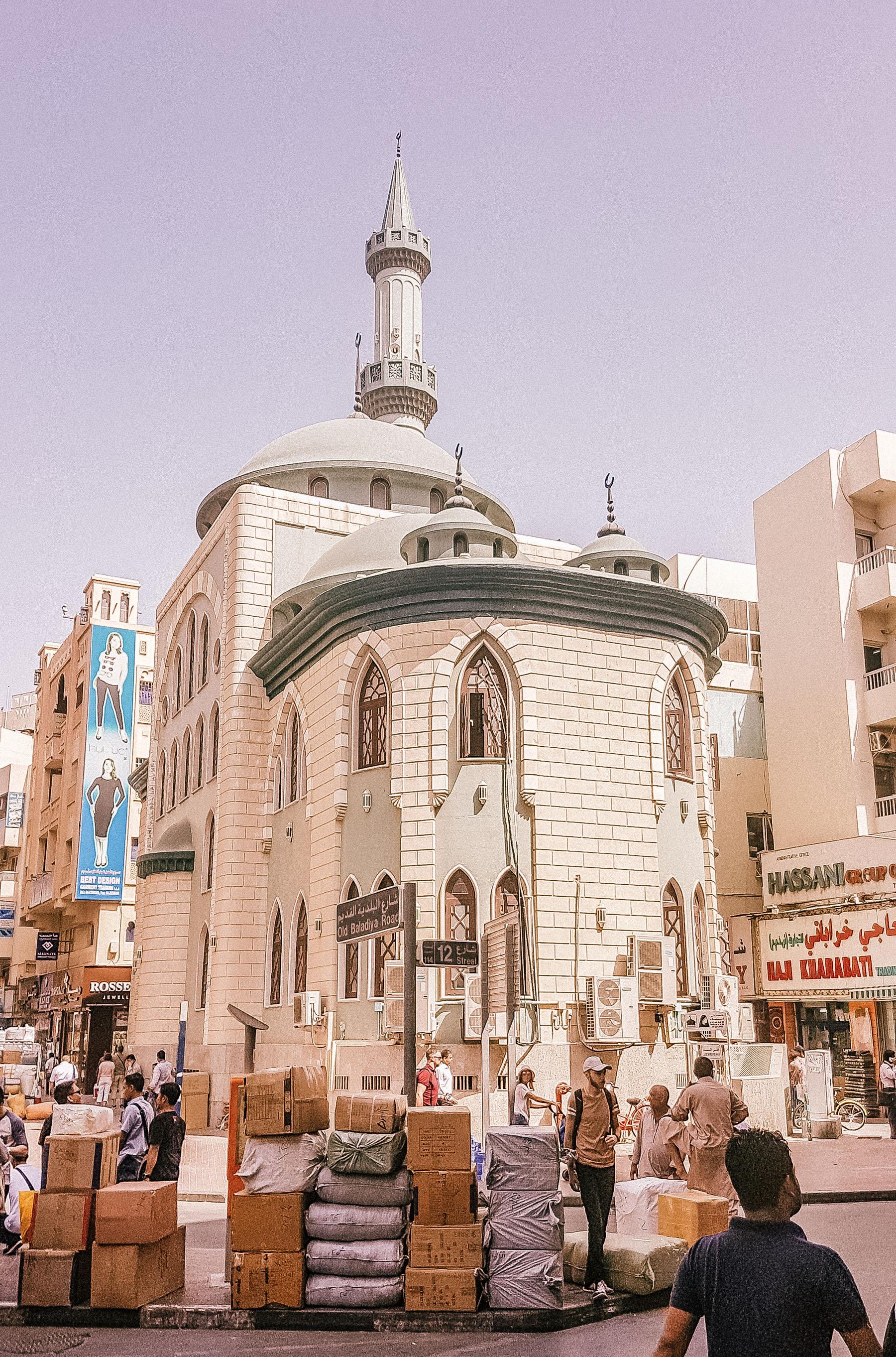 Orient Kreuzfahrt Dubai Gold Souk Moschee