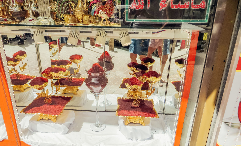 Orient Kreuzfahrt Dubai Gold Souk Safran