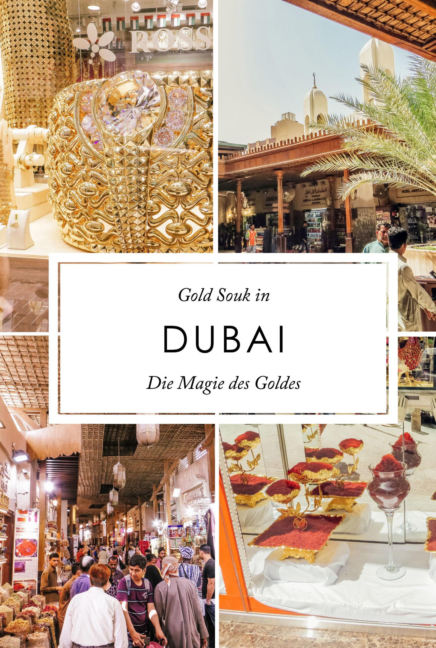 Orient Kreuzfahrt Gold Souk Dubai Magie des Goldes