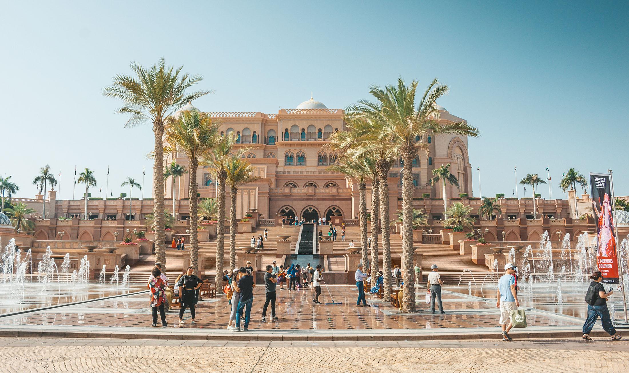 Orient Kreuzfahrt Abu Dhabi Emirates Palace Hotel