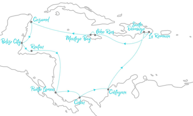 mittelamerika kreuzfahrt mit mein schiff 6 ninifeh. Black Bedroom Furniture Sets. Home Design Ideas