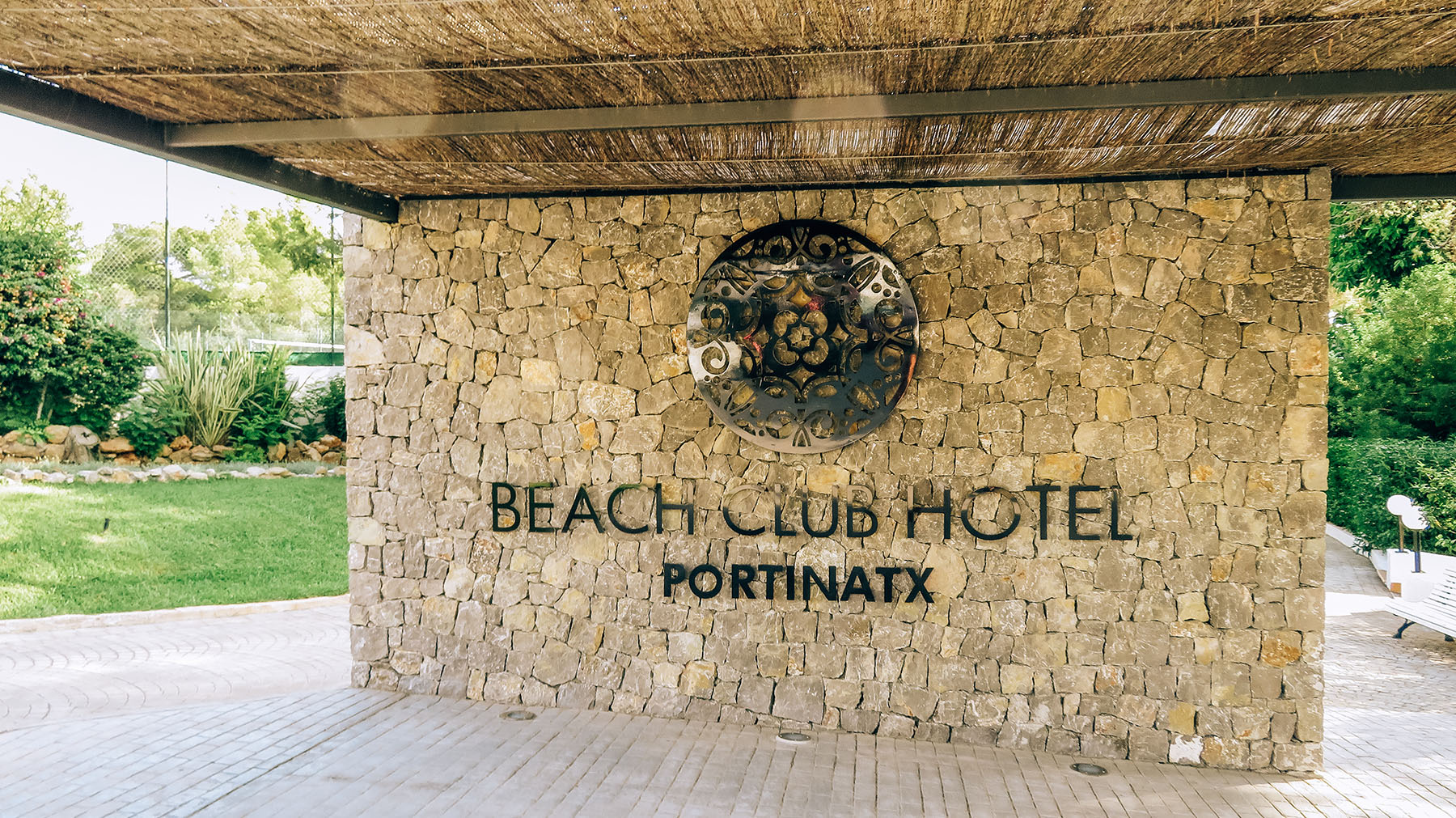 Beach Club Hotel Portinatx Eingang