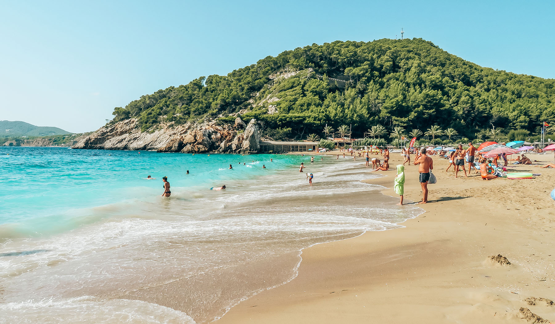 Cala Sant Vicent Ibiza Strand