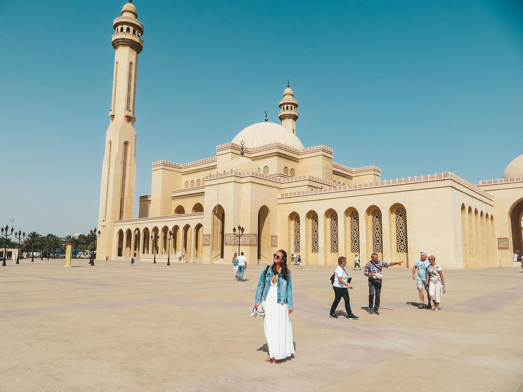 Orient Kreuzfahrt Manama Bahrain Ausflug Moschee