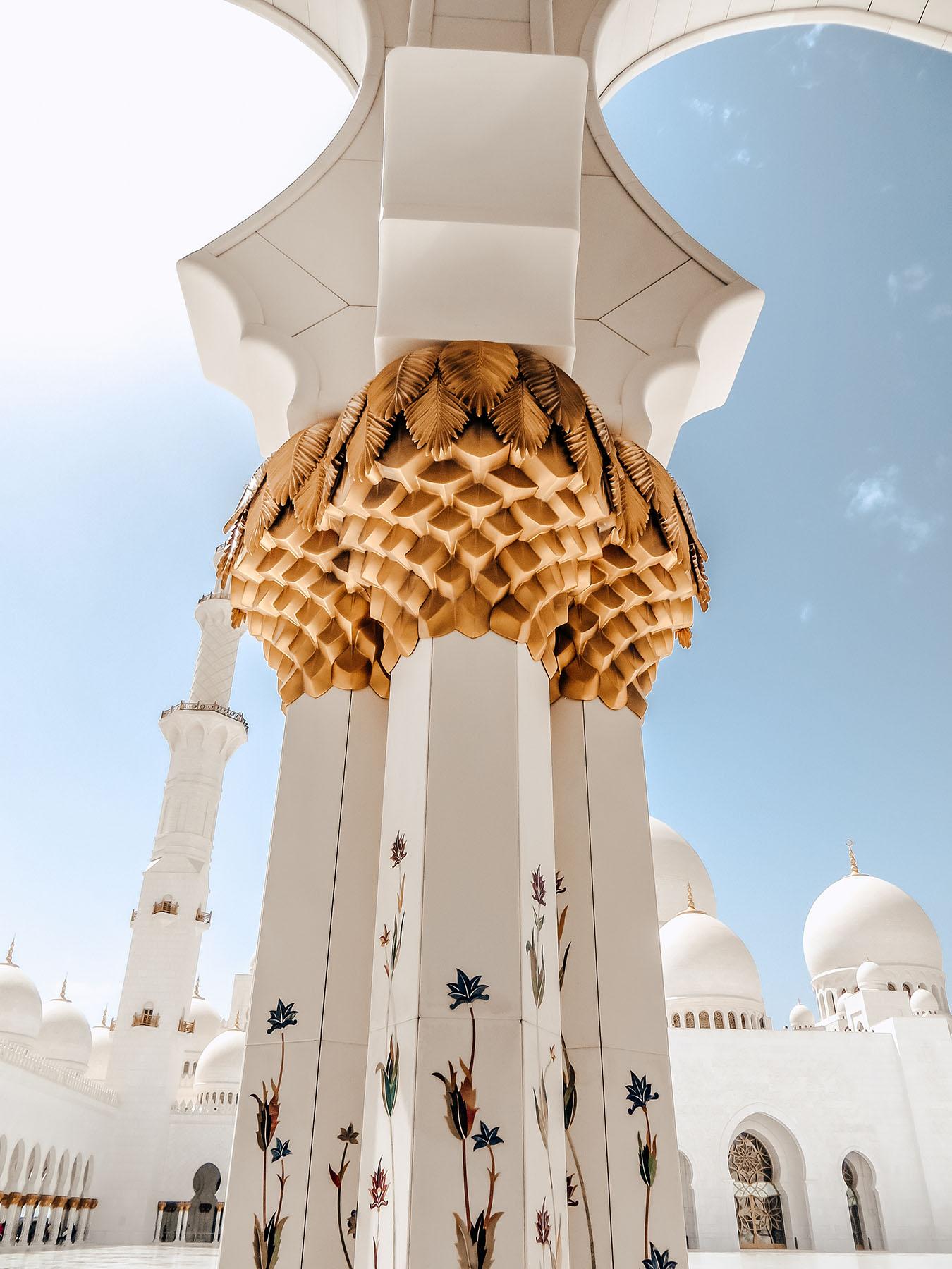 Orient Kreuzfahrt Abu Dhabi Scheich Zayid Moschee 4