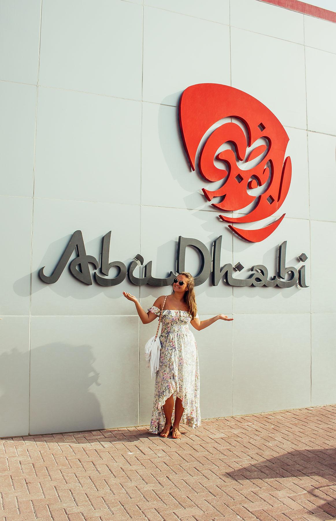 Orient Kreuzfahrt Abu Dhabi Hafen