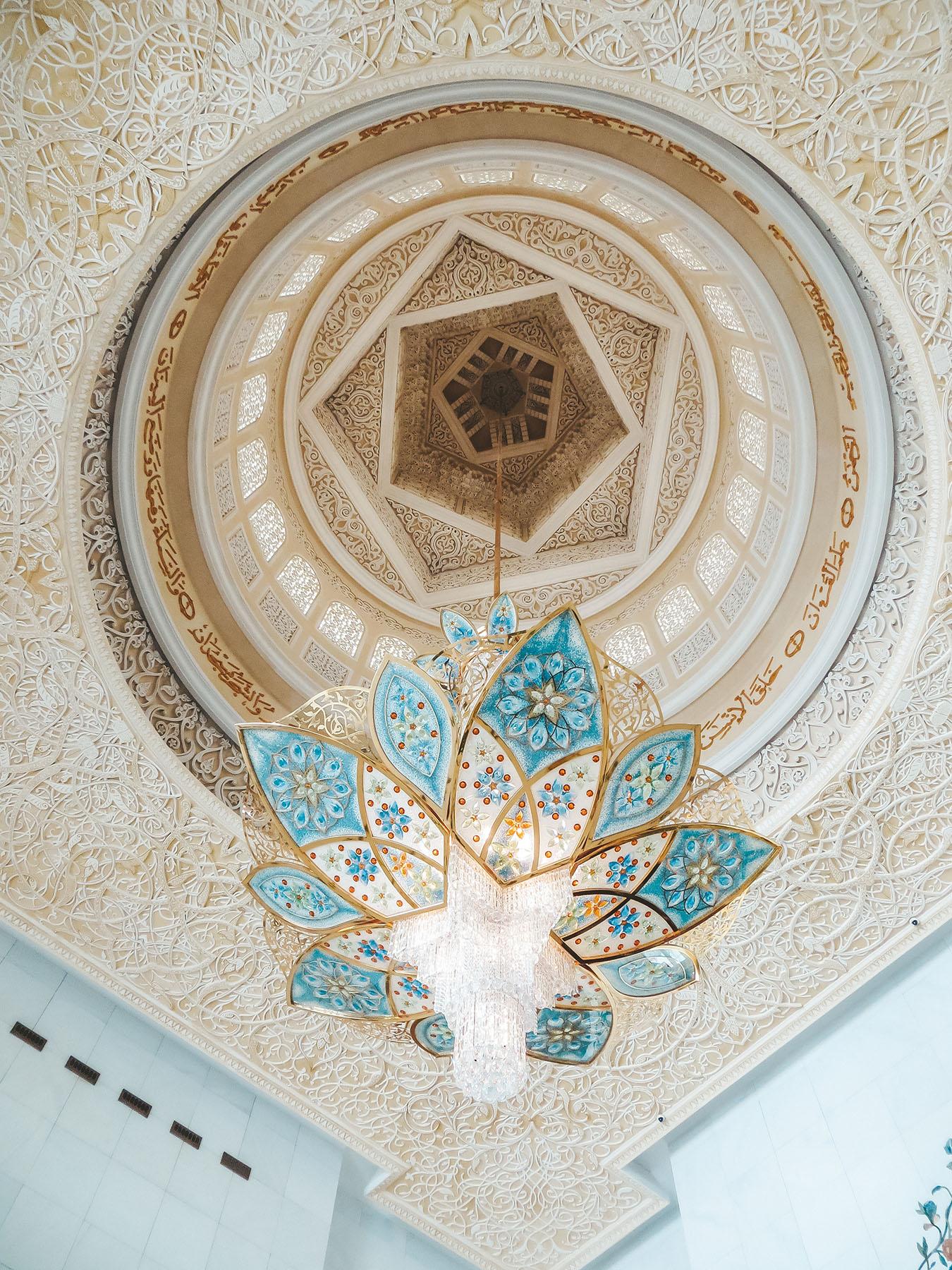 Orient Kreuzfahrt Abu Dhabi Scheich Zayid Moschee 12