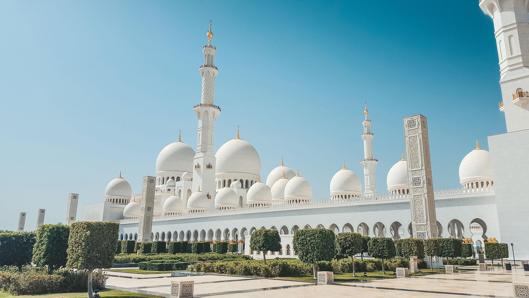 Orient Kreuzfahrt Abu Dhabi Scheich Zayid Moschee 8