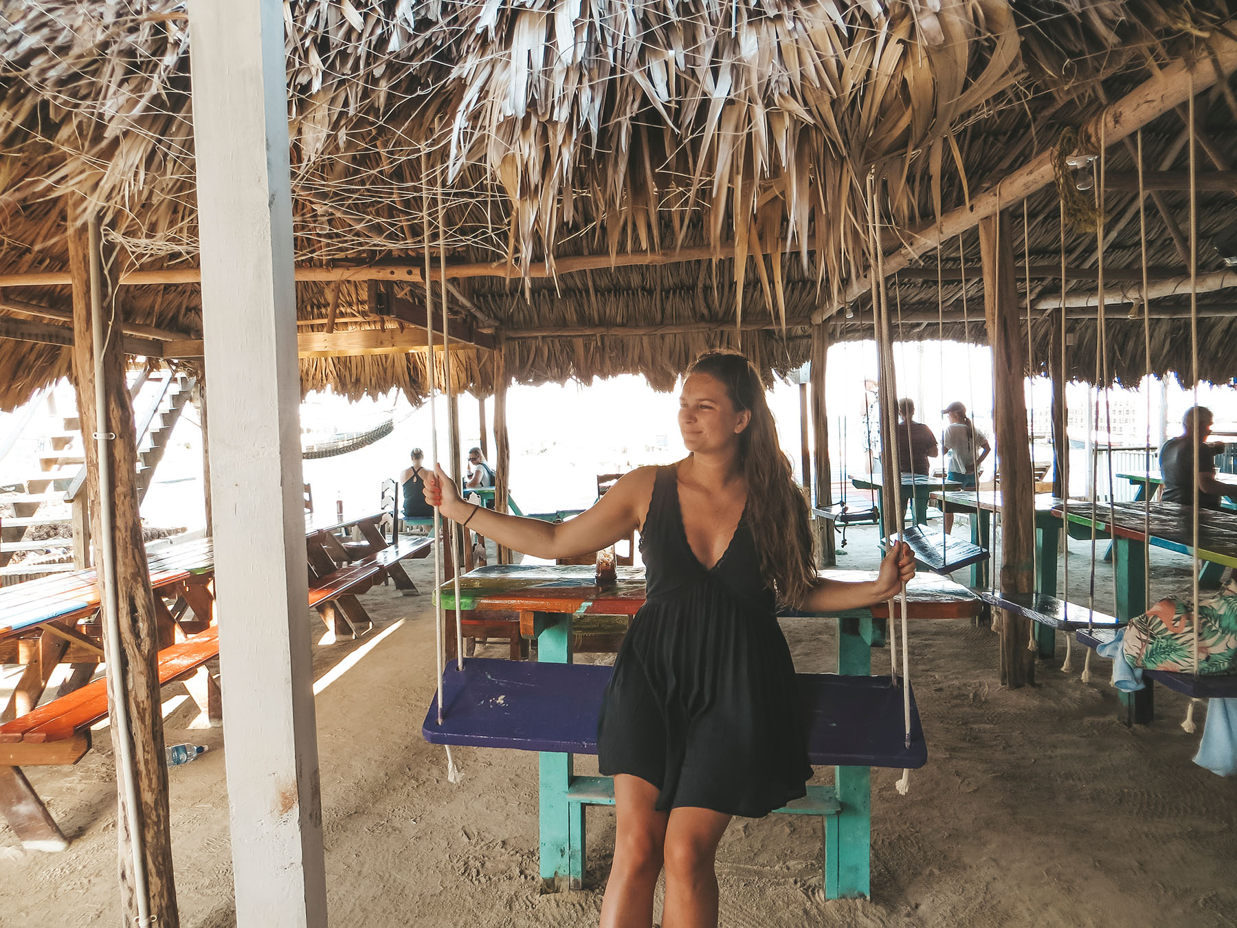 Belize Ausflug Caye Caulker Bar