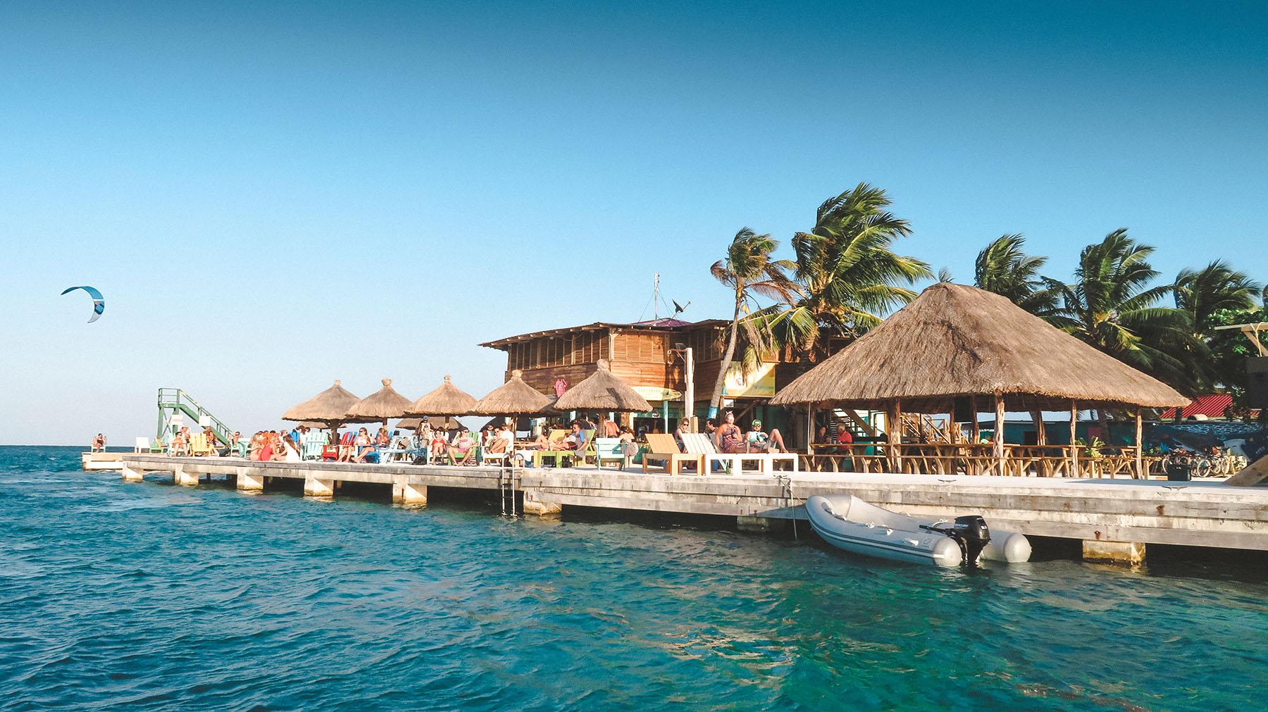 Belize Ausflug Caye Caulker Speedboot