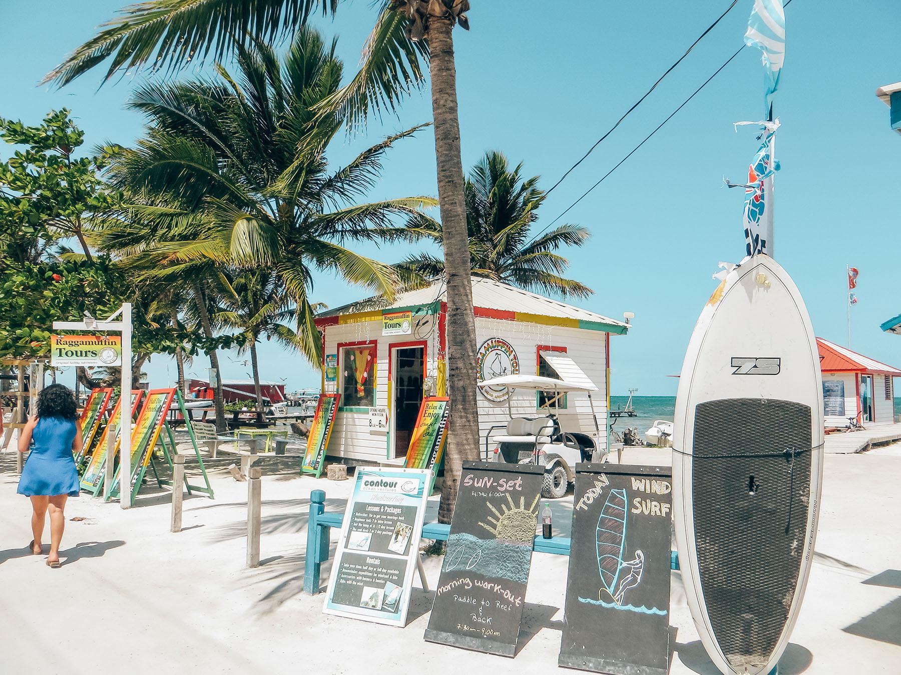 Belize Caye Caulker Insel