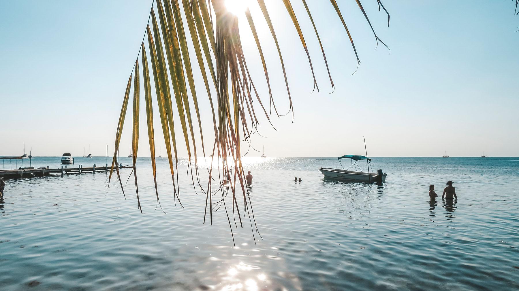 Belize Caye Caulker Strand