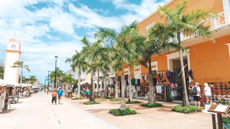 Cozumel Mexiko Ausflug auf eigene Faust Stadt San Miguel 4