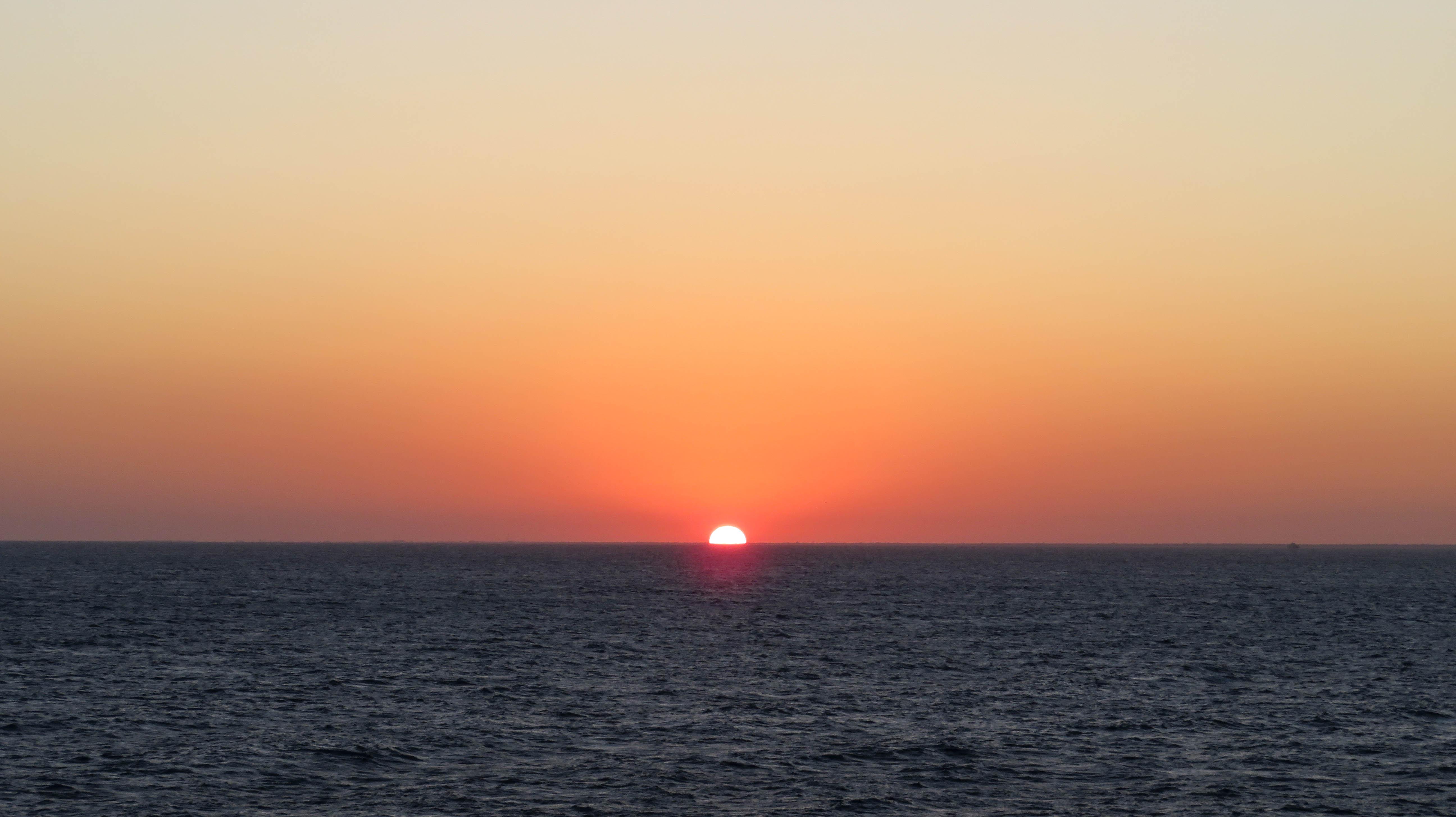 Cozumel Mexiko Sonnenuntergang