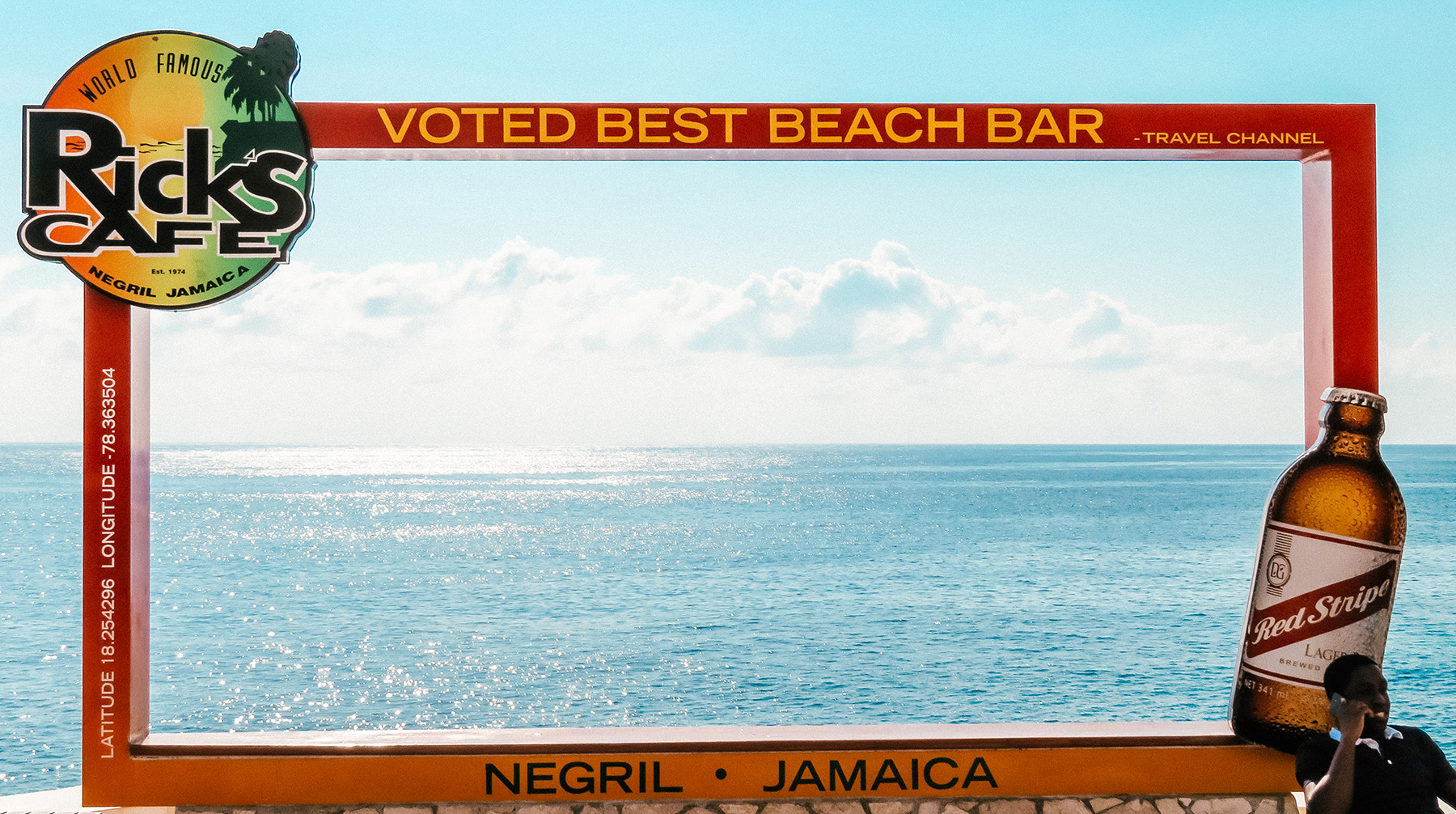 Mittelamerika Kreuzfahrt Ausflug Ricks Cafe Negril Jamaika