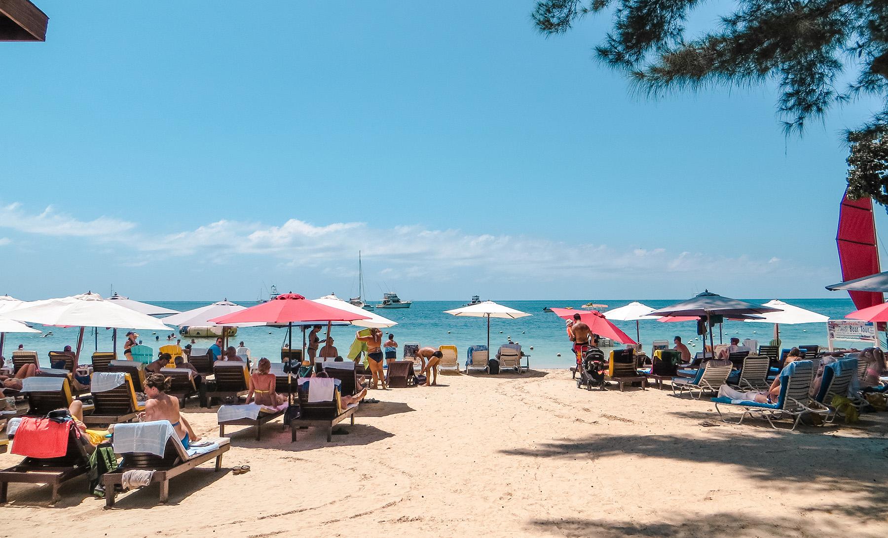 Mittelamerika Kreuzfahrt Ausflug Seven Mile Beach Negril Jamaika