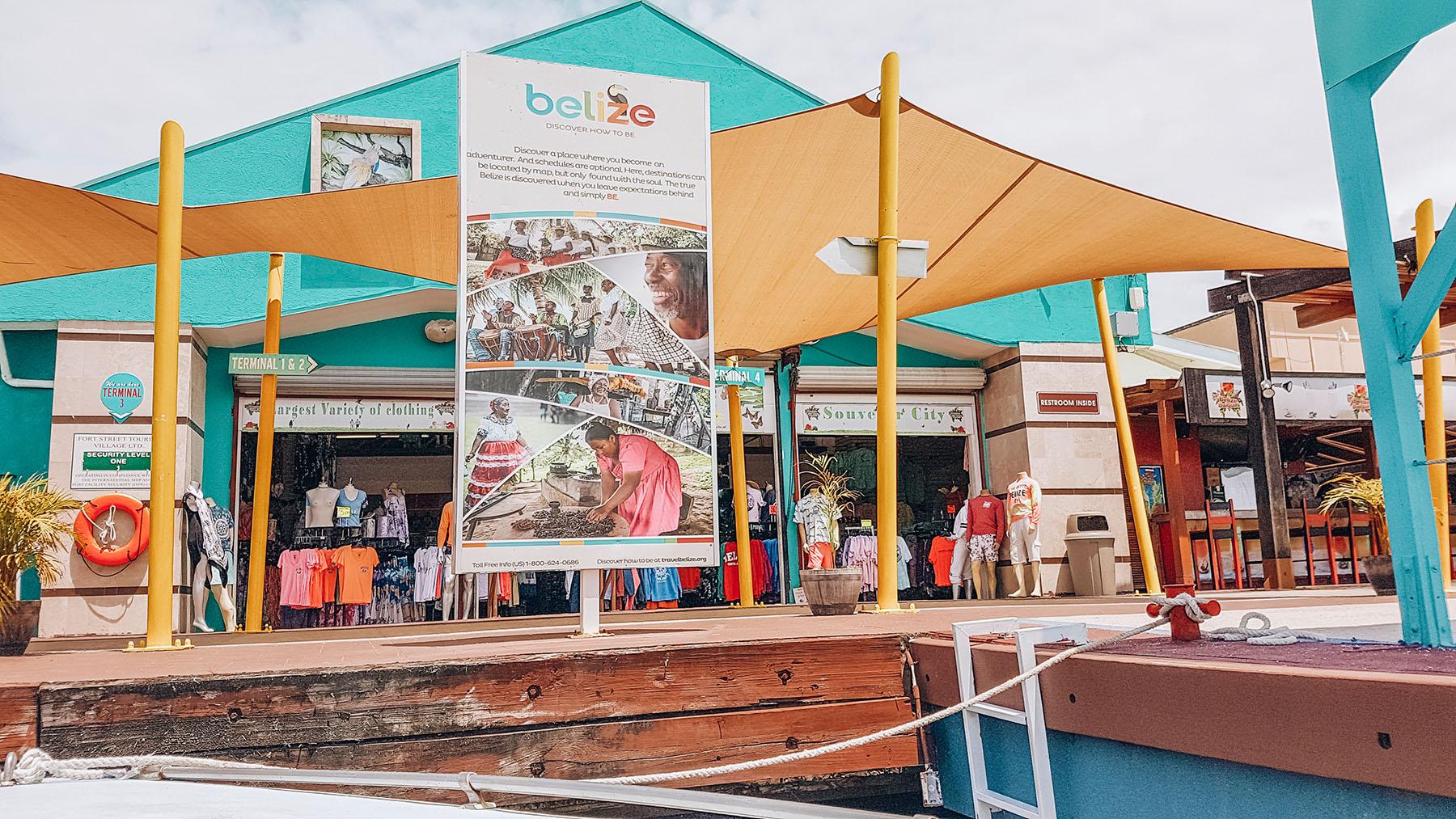 Mittelamerika Kreuzfahrt Belize Hafen Ausflug