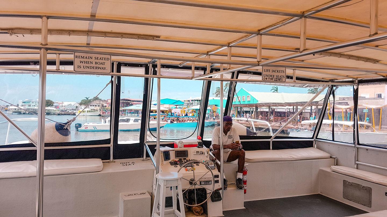 Mittelamerika Kreuzfahrt Belize Hafen Tendern