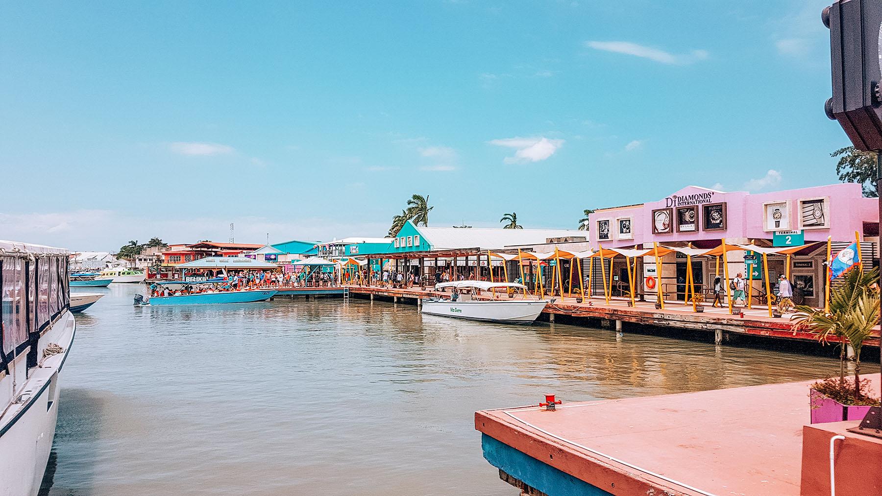 Mittelamerika Kreuzfahrt Belize Hafen