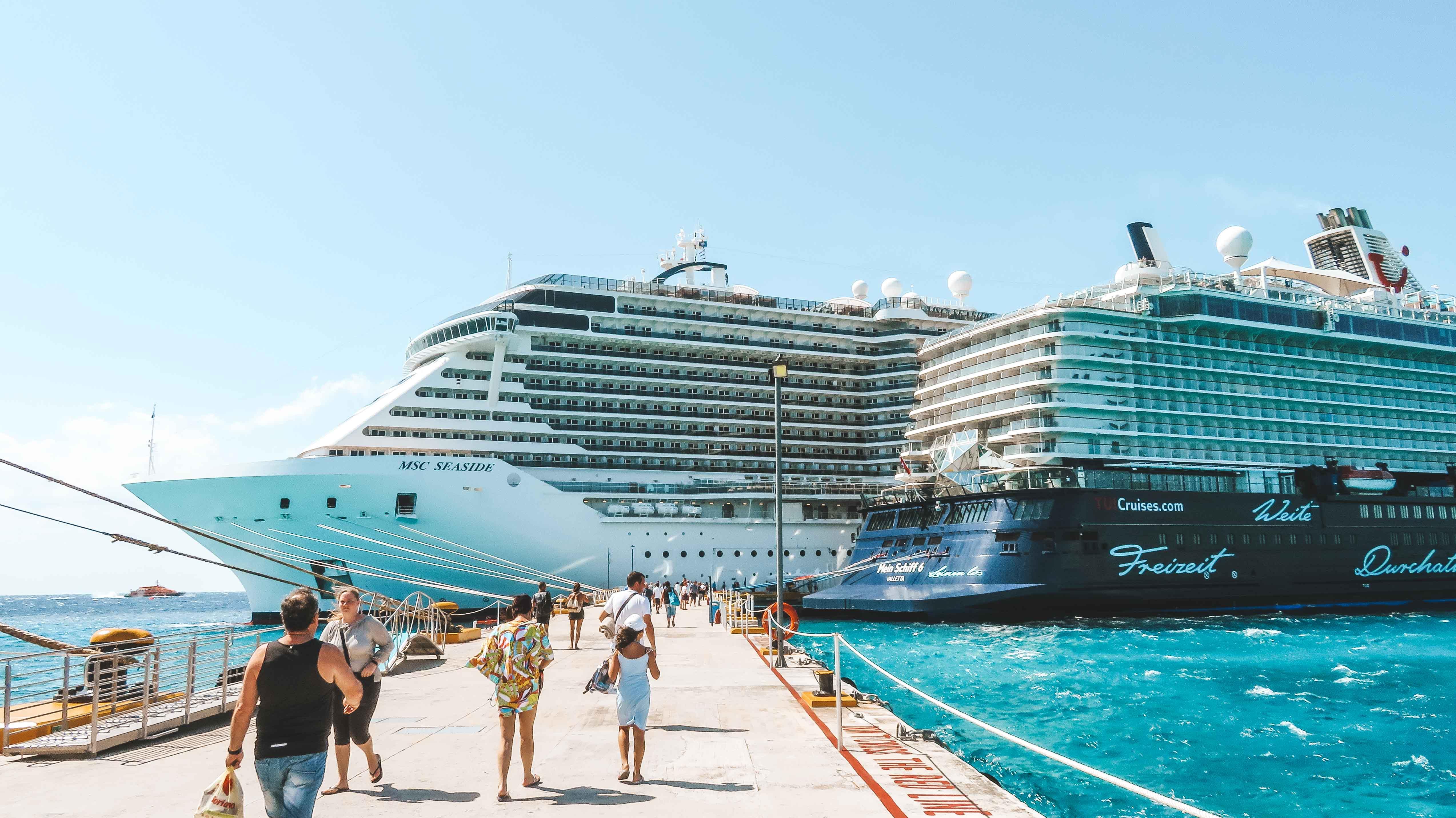 Mittelamerika Kreuzfahrt Hafen Cozumel Mexiko 2