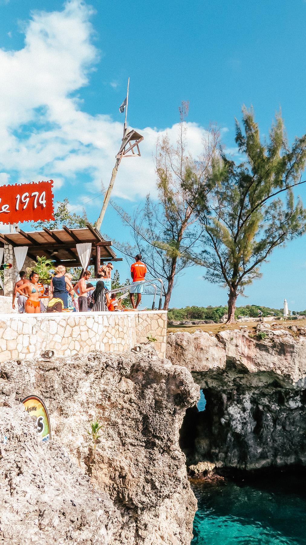 Mittelamerika Kreuzfahrt Montego Bay Jamaika Ricks Cafe Negril 2