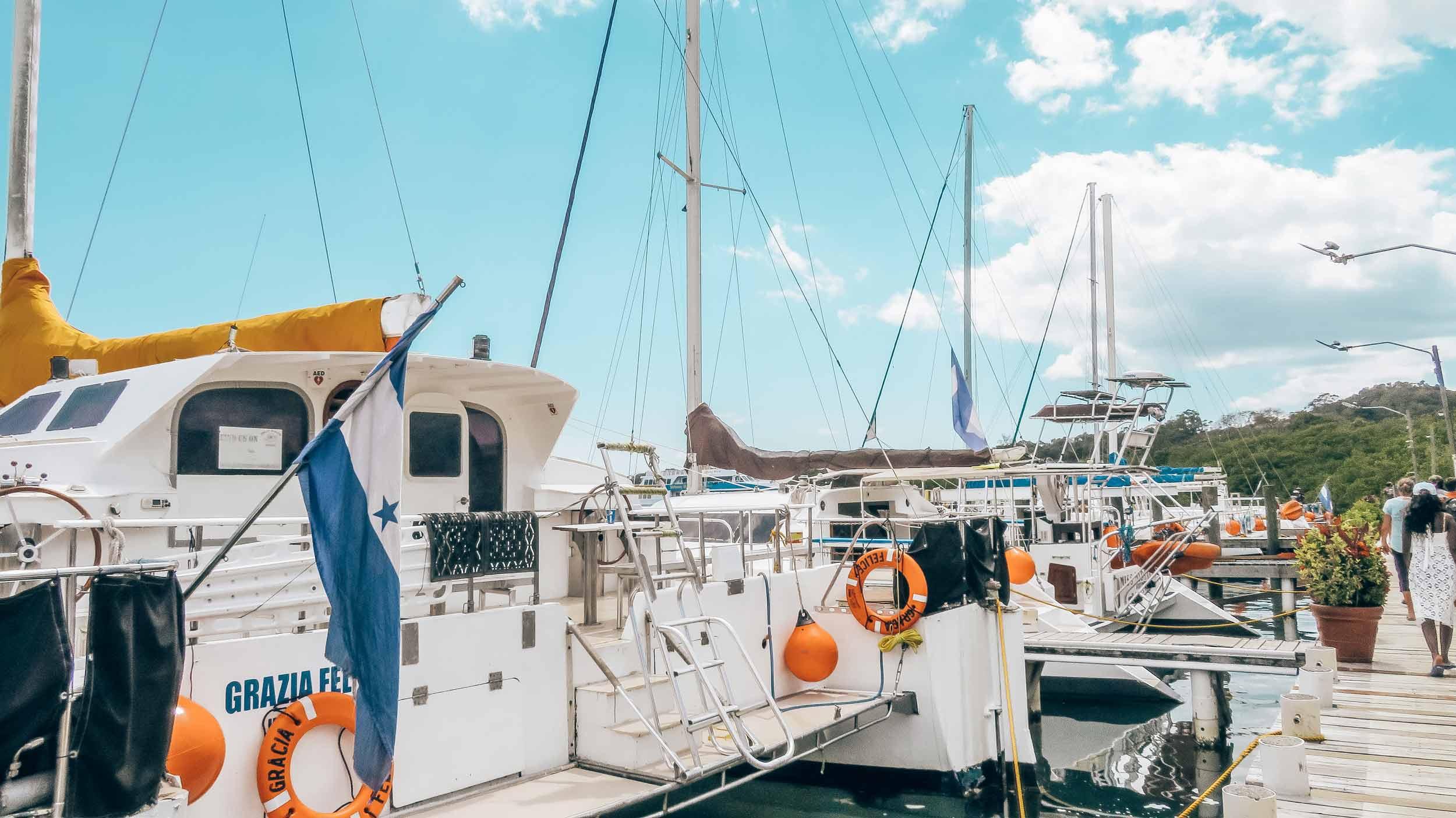 Mittelamerika-Kreuzfahrt-Roatan-Honduras-Ausflug-Hafen-2