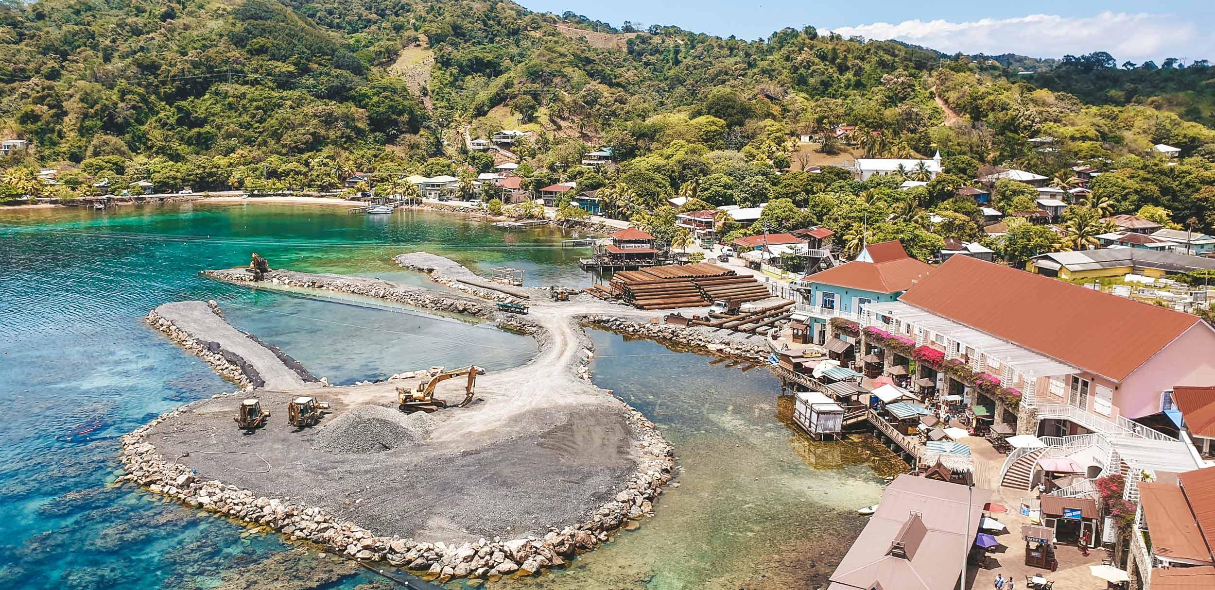 Mittelamerika-Kreuzfahrt-Roatan-Honduras-Hafen-4