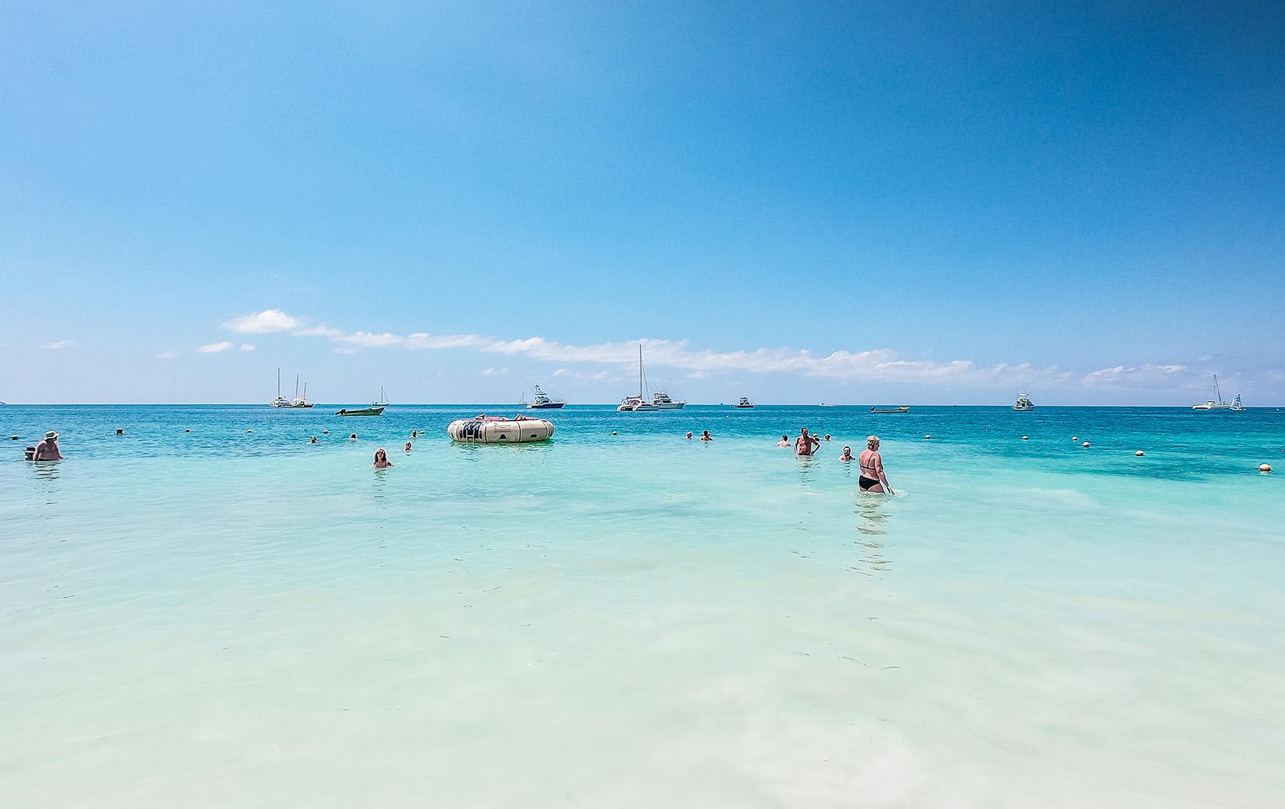 Mittelameriks Kreuzfart Seven Mile Beach Negri Jamaika