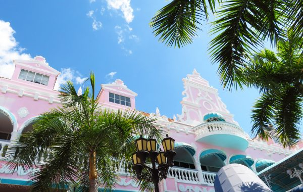 Karibik Kreuzfahrt Aruba Oranjestad Plaza