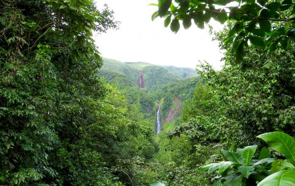Carbet Wasserfälle Guadeloupe Ausflug Reisebericht