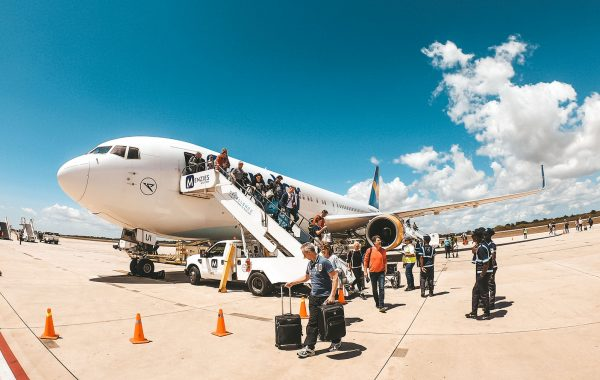 Mittelamerika Kreuzfahrt Mein Schiff 6 Anreise La Romana Flughafen
