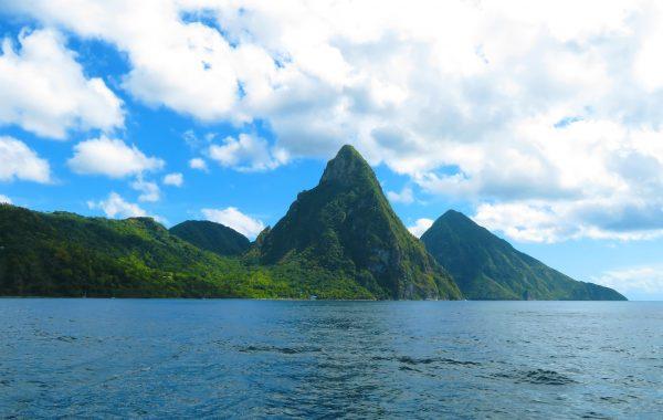 Karibik Kreuzfahrt St. Lucia Vulkan Pitons